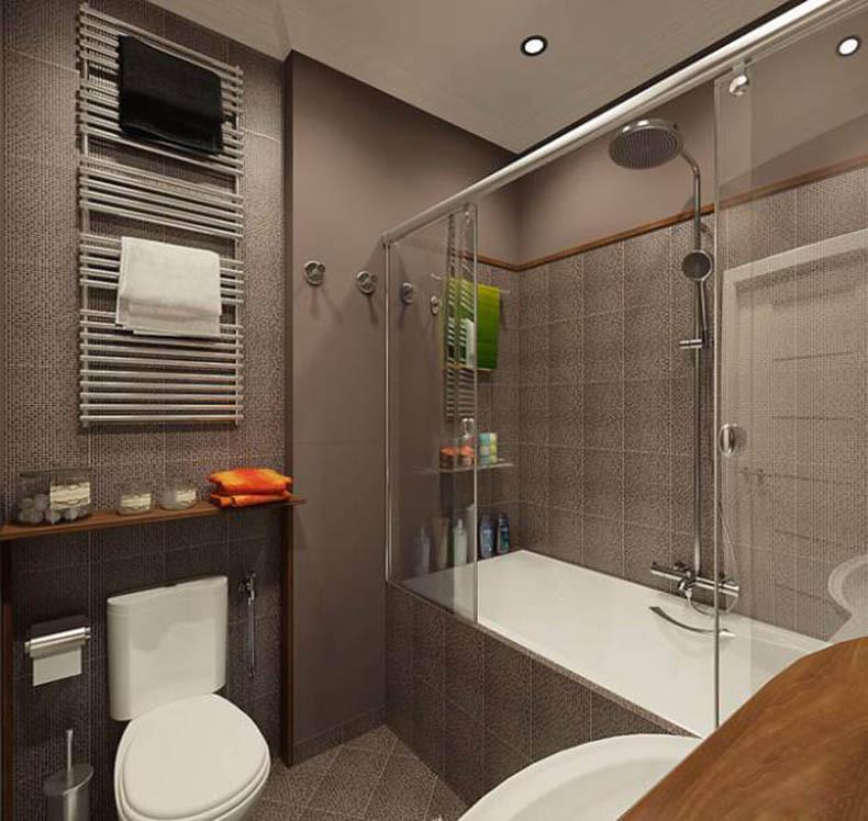 Дизайн маленькой ванной комнаты идеи советы рекомендации: Дизайн интерьера очень маленькой ванной комнаты » Картинки
