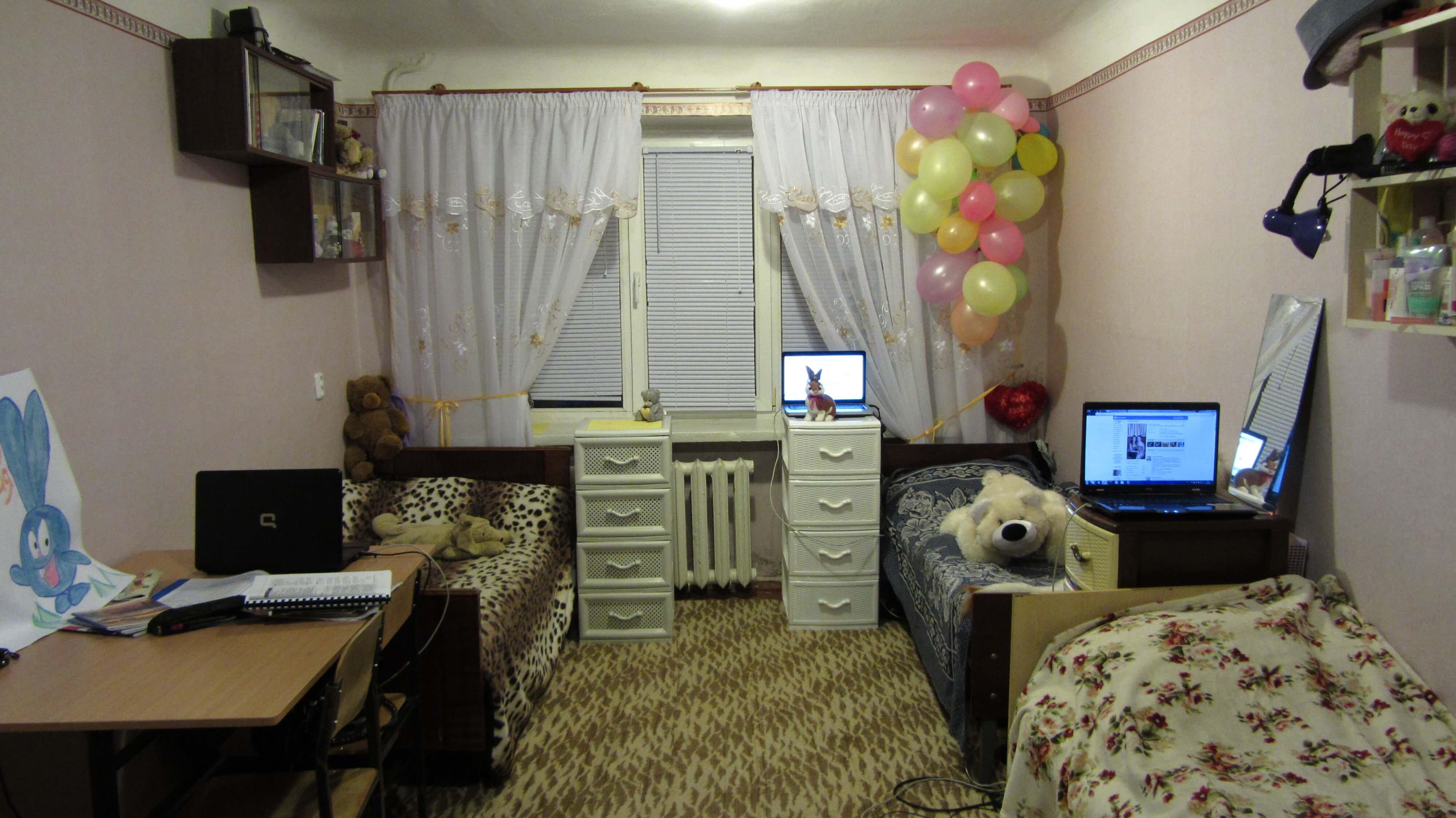 Как своими руками сделать комнату в общежитии уютной фото