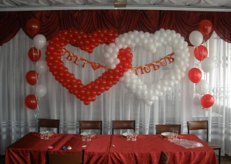 шарики на свадьбу своими руками