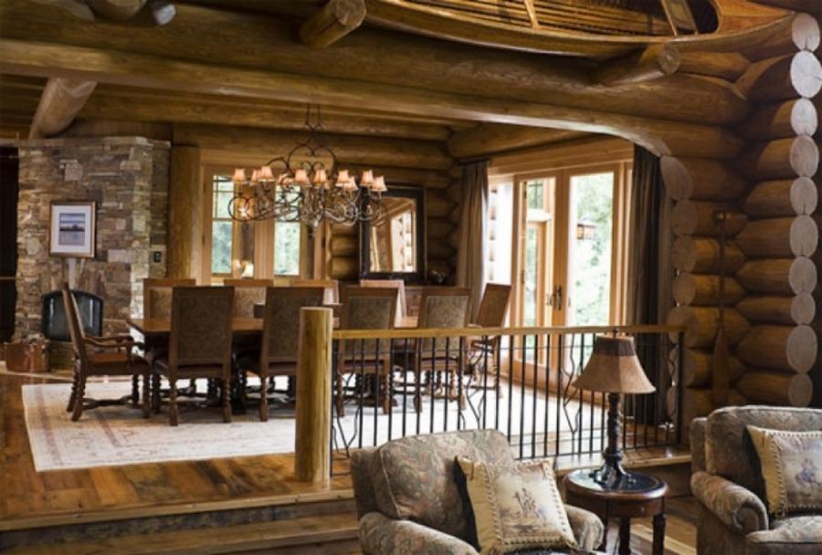 Интерьер в стиле кантри на примере испанского старинного дом.