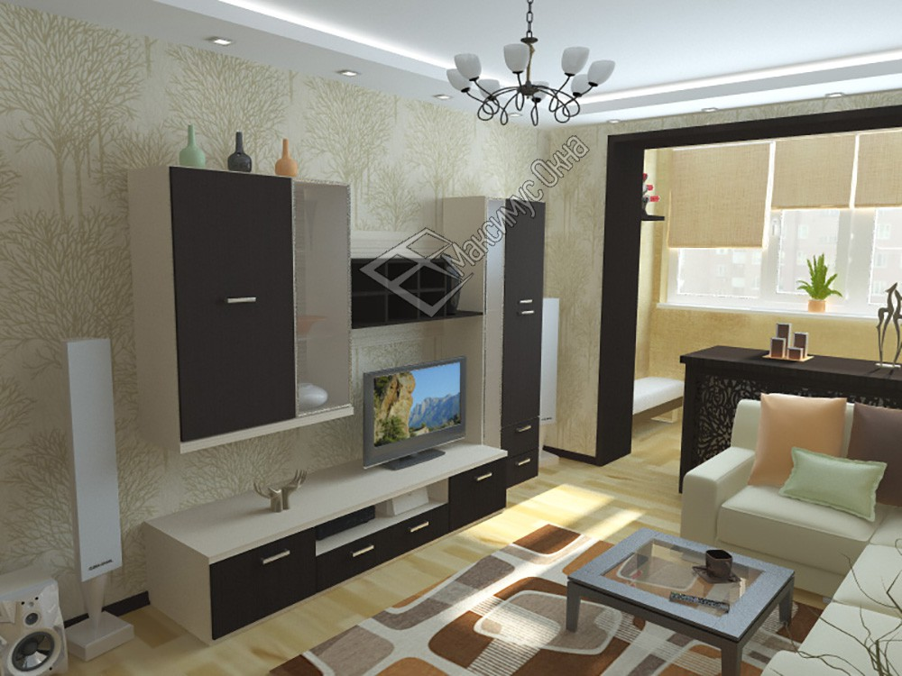 Дизайн интерьера гостиной 17 кв м: комнаты с балконом , с ка.