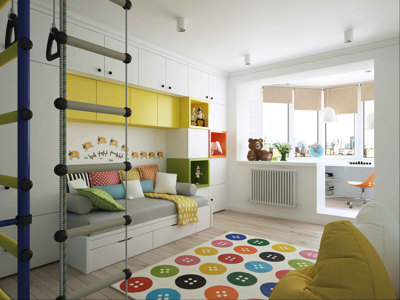 Детская игровая комната для мальчиков: 75 фото примеров инте.