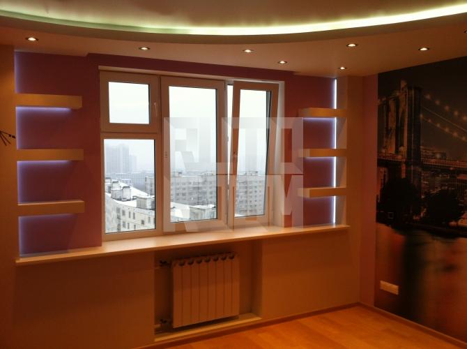 """Дизайн 3-х комнатной квартиры 83 серии """" картинки и фотограф."""