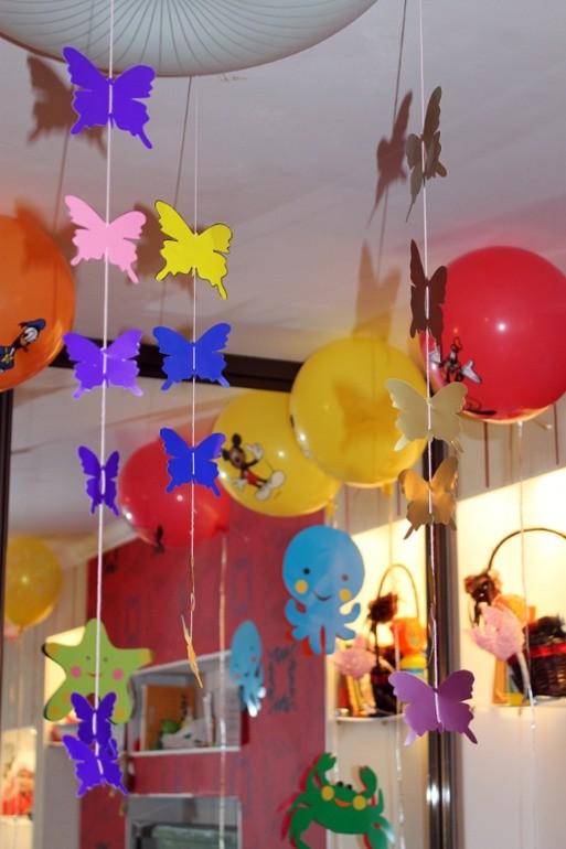 Как украсить комнату на день рождения своими руками 69
