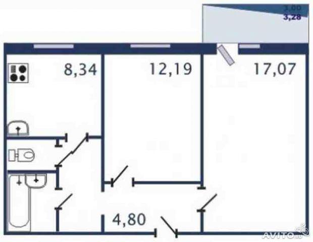 Дизайн современной небольшой квартиры 41 кв м