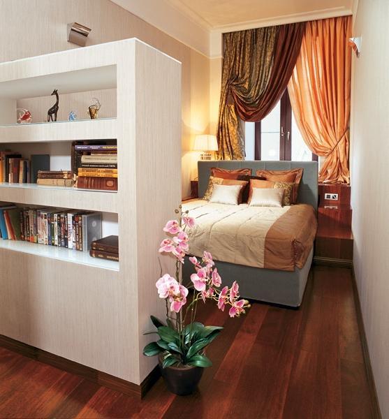 """Дизайн длинной комнаты с балконом """" картинки и фотографии ди."""