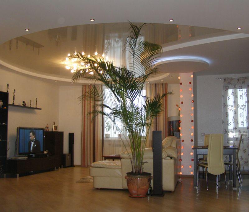 Дизайн потолков: Дизайн потолков в гостинной фото » Картинки и фотографии