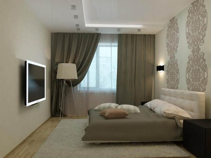 Дизайн спальни 12 кв. м. - 60 фото, идеи интерьеров