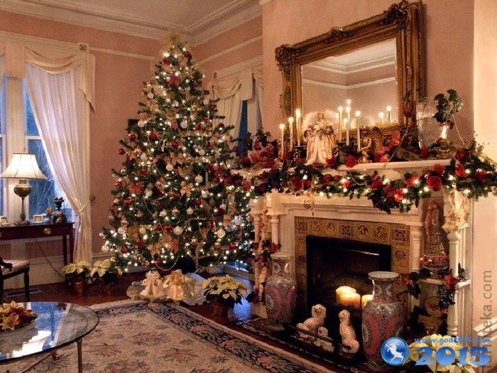 Как украсит дом к новому году в картинках
