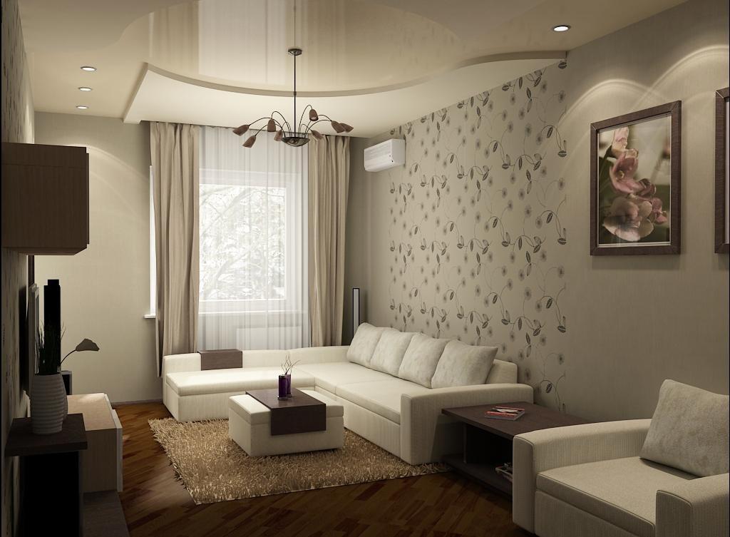 Интерьер жилой комнаты в картинках