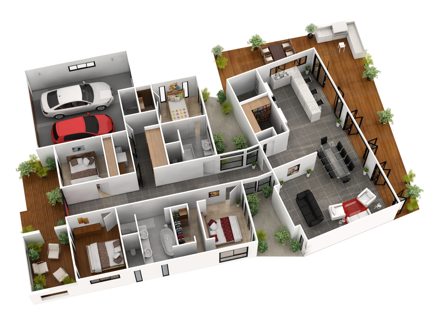 Floor Plans 3d And Interior Design Online Free