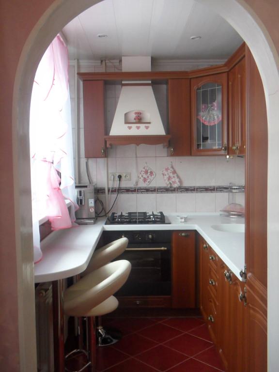 Дизайн и интерьер кухни в хрущевке дизайн кухни - фото, опис.