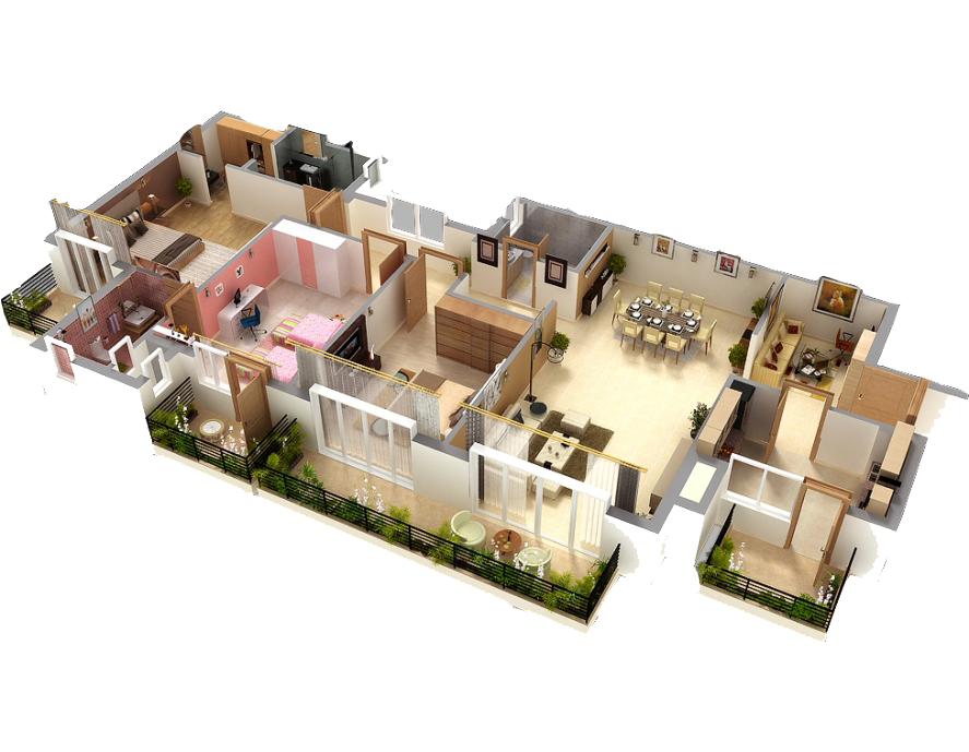Build your own floor plan remarkable large home living for Build your own 3d house