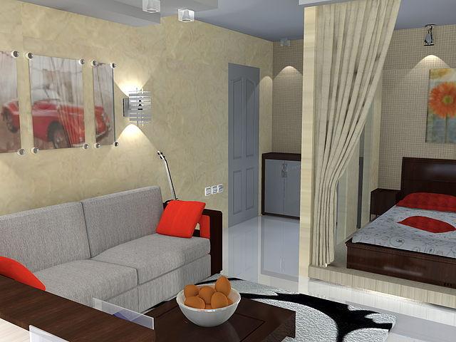 обстановка и дизайн комнат