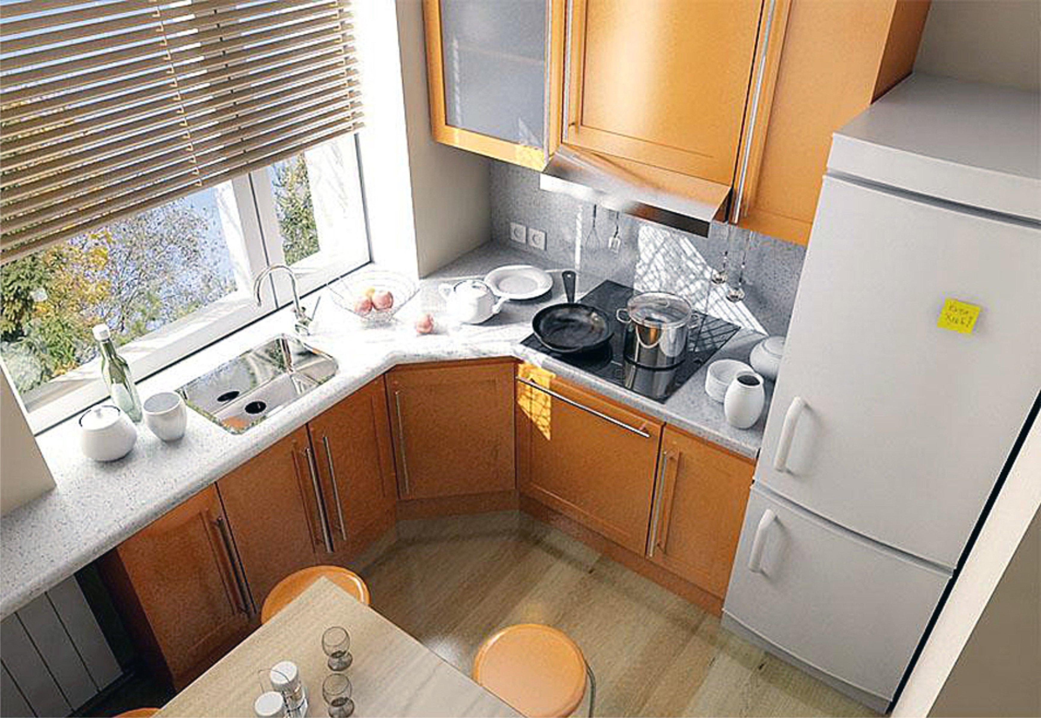 Ремонт и дизайн кухонь в хрущевке - идеи интерьера маленькой.