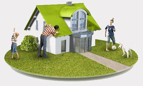Оформление земельного участка под домом