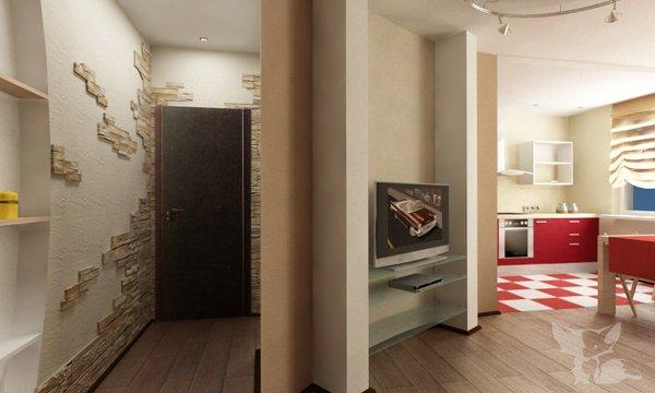 "Дизайн коридора в 3-х комнатной квартире "" картинки и фотогр."