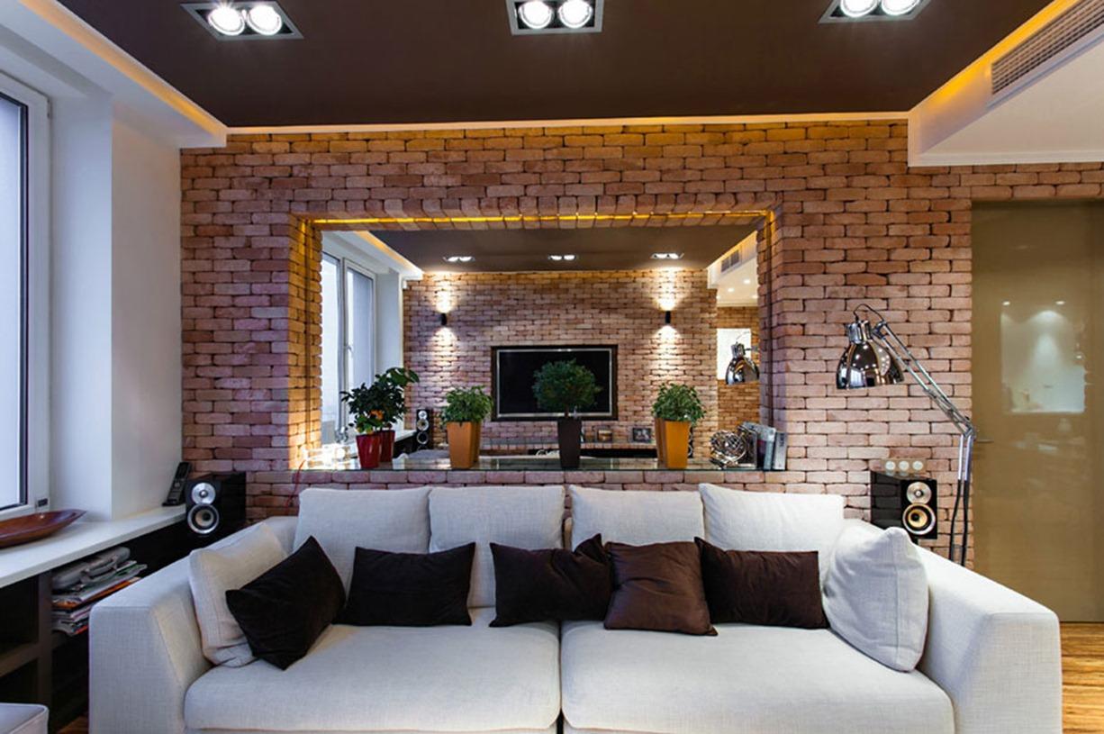 Loft design ideas living room