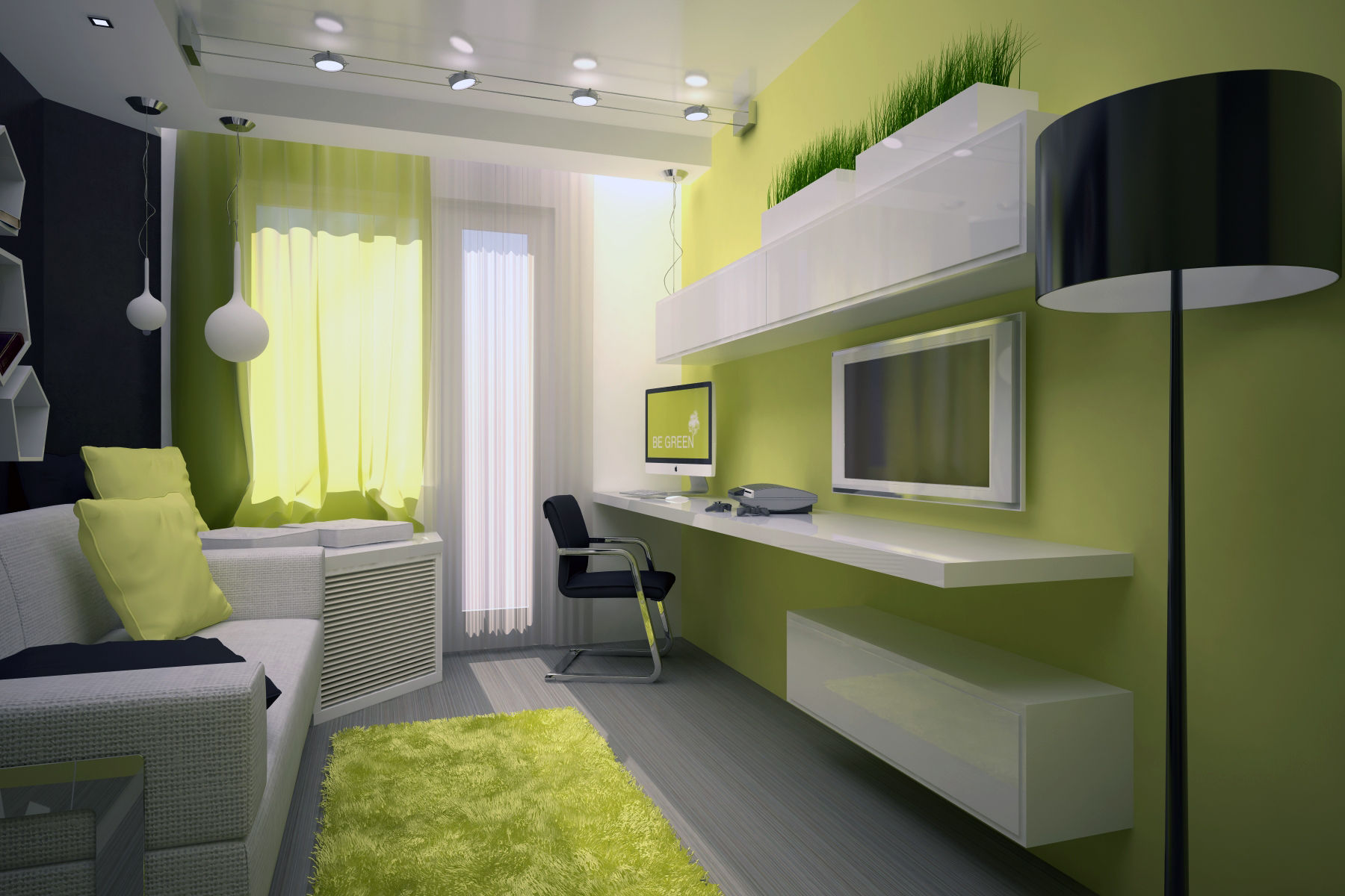 Дизайн детской комнаты для мальчика 13 кв. м