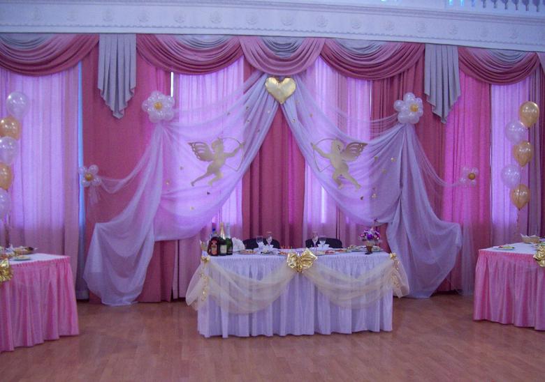 Как оформить подъезд к свадьбе своими руками