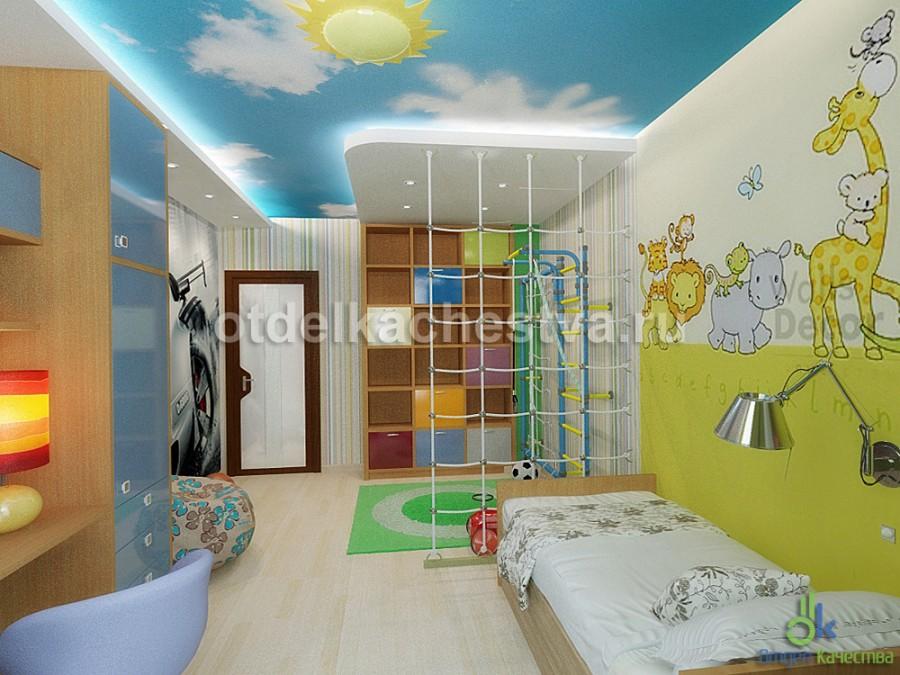 дизайн детской комнаты для мальчика 15 лет картинки и фотографии
