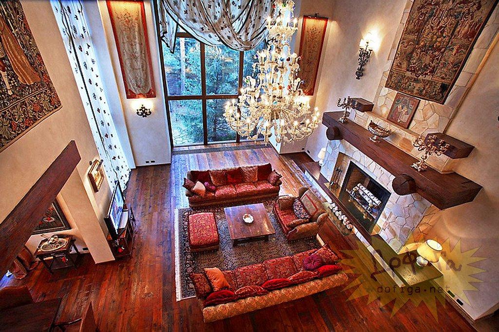 Самый красивый интерьер домов фото