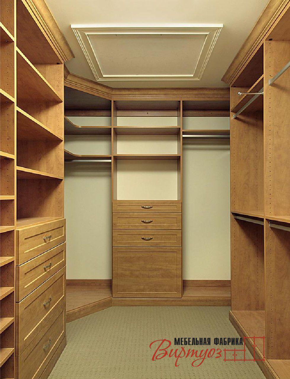 Гардеробная комната - фото 60 дизайн-проектов гардеробных.