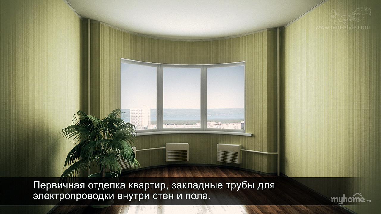 Проект: архитектурная визуализация дома серии и-155мк, автор.