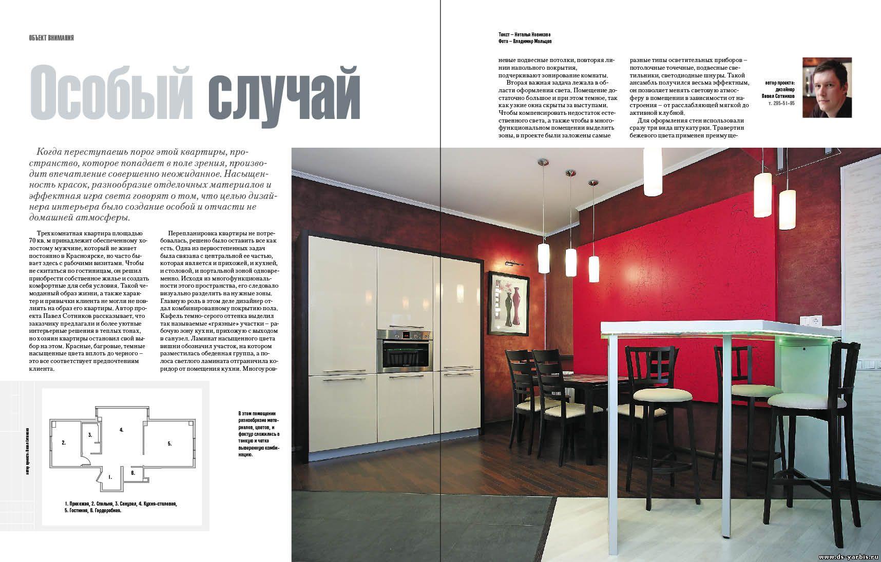 Статьи по дизайну интерьера