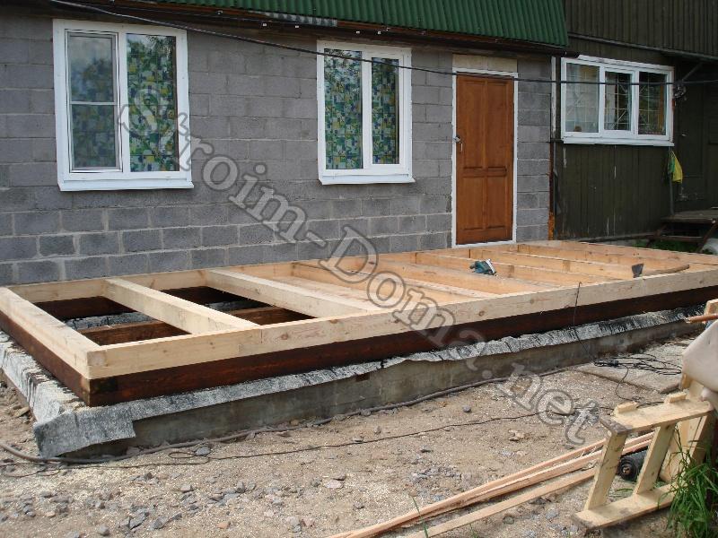 Как пристроить балкон к деревянному дому своими руками фото 271