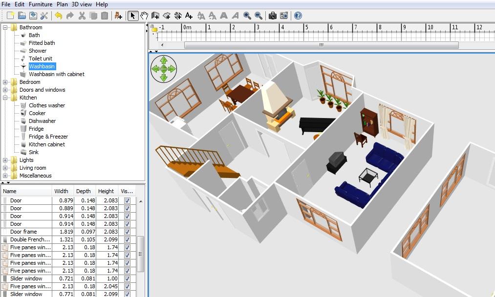 Floor plan 3d free online for 3d floor plan online free