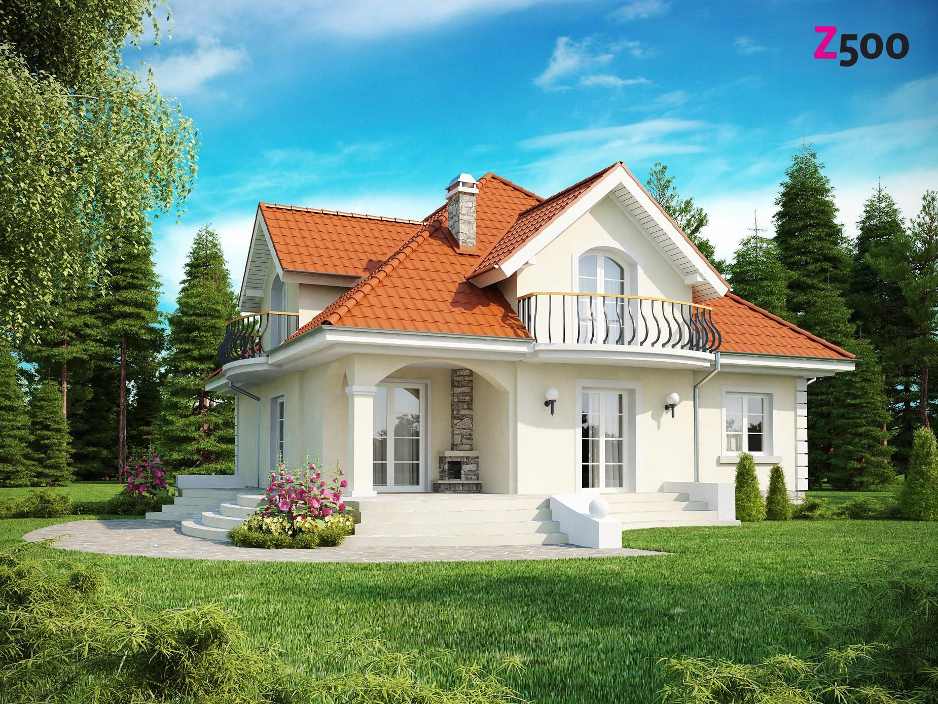 Импортные проекты домов и коттеджей : коллекция иллюстраций.