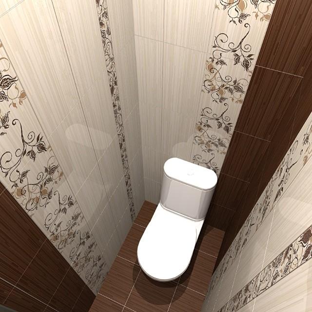 Ремонт туалета своими руками фото идеи обои
