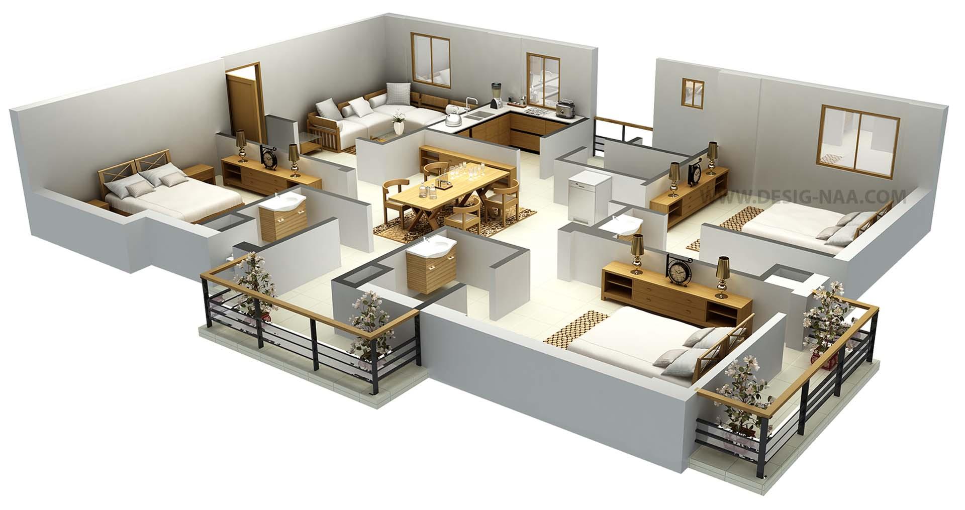 Floor Plan 3d Model Free Download картинки и фотографии