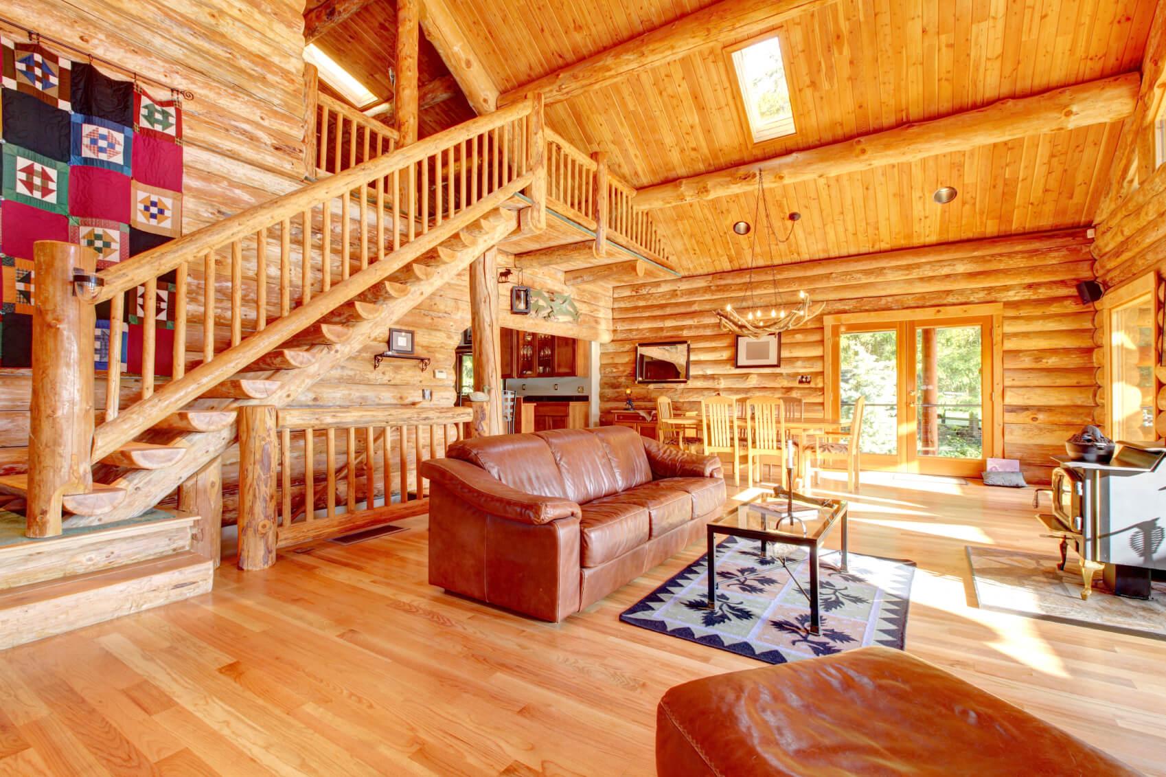 нижнее белье обустройство нового деревянного дома внутри материал