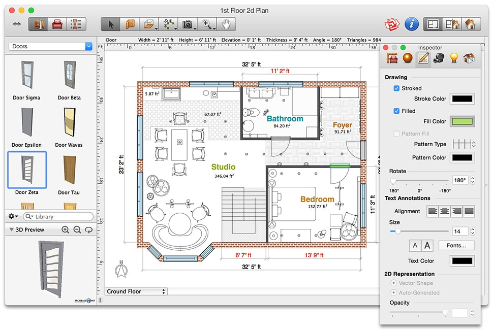floorplan 3d design suite 11.0 32