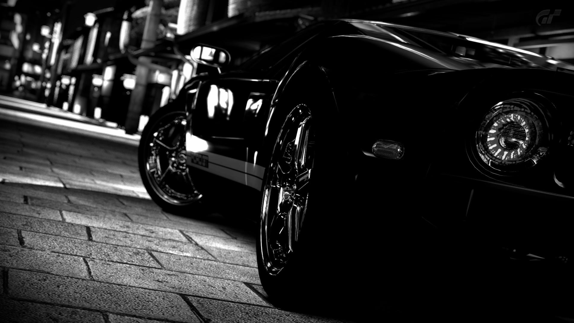 Черный стильный автомобиль онлайн
