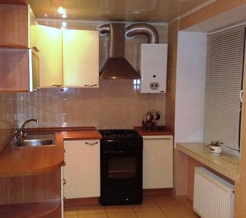 Красивый дизайн кухни в хрущевке: Дизайн кухни в хрущёвке фото с газовой колонкой » Картинки