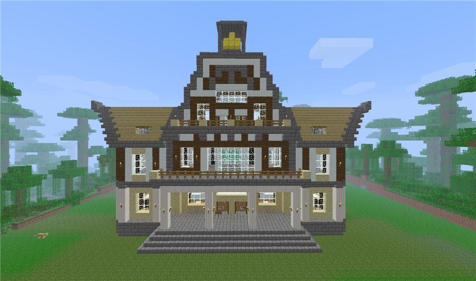 Как построить красивый дом в майнкрафт » Krafte.ru ...