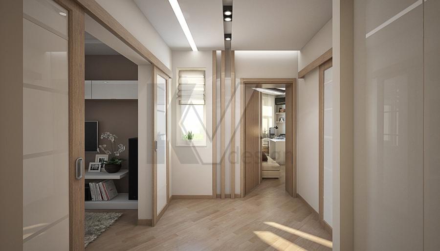 Проект 3-комнатной квартиры серии п-3м, м. планерная.