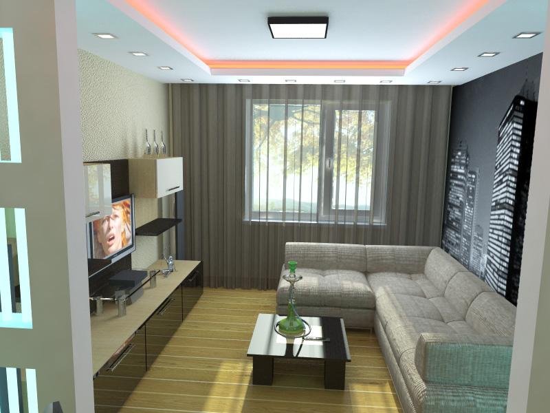 Дизайн для малогабаритной квартиры в картинках 631