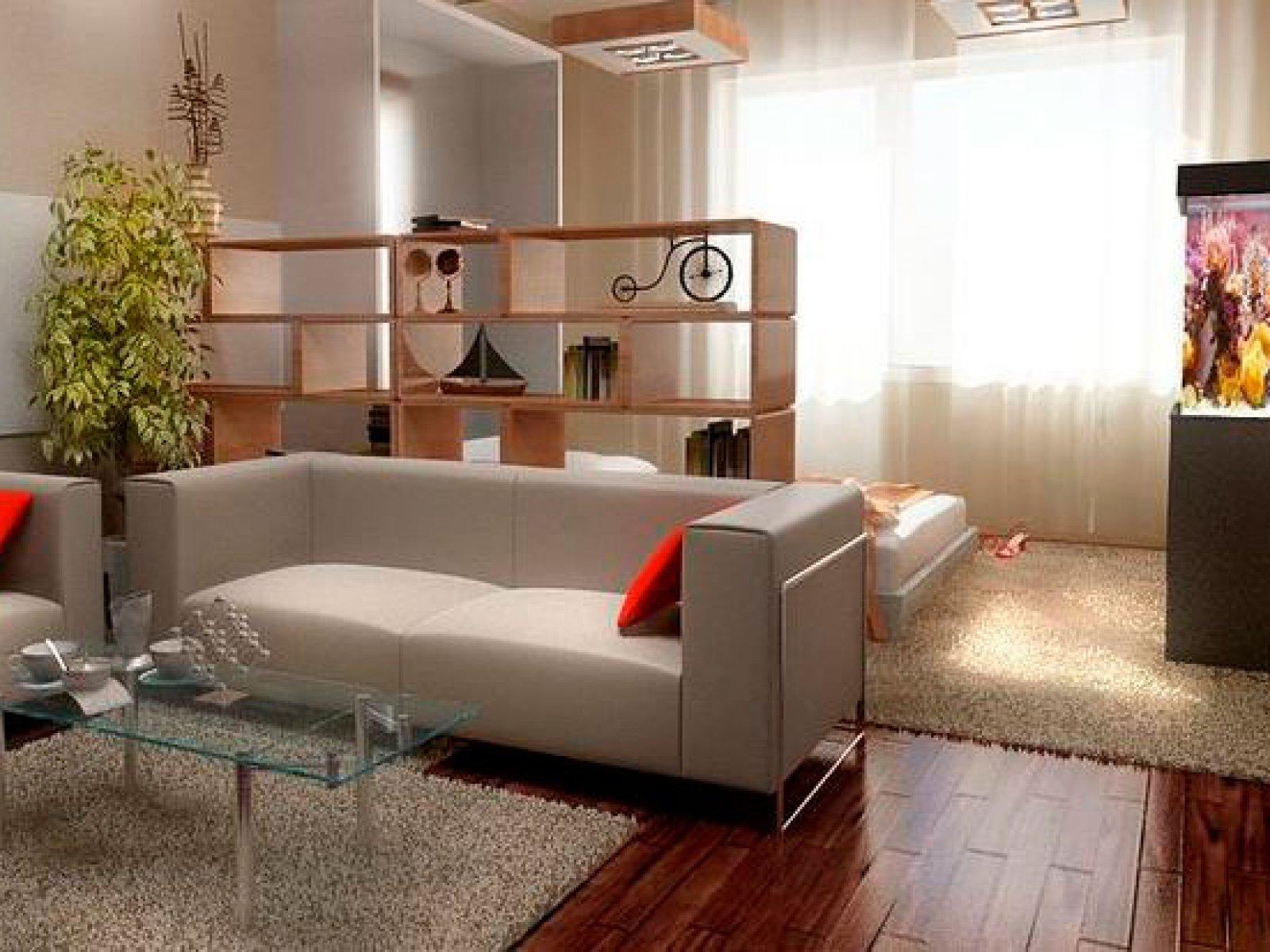 Дизайн однокомнатной квартиры для мамы и дочки фото