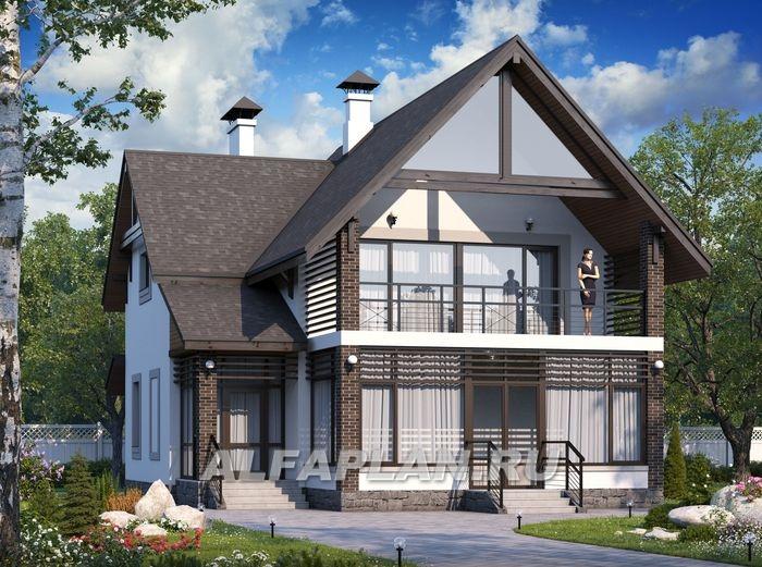 """Фото двухэтажных домов с террасой """" картинки и фотографии ди."""