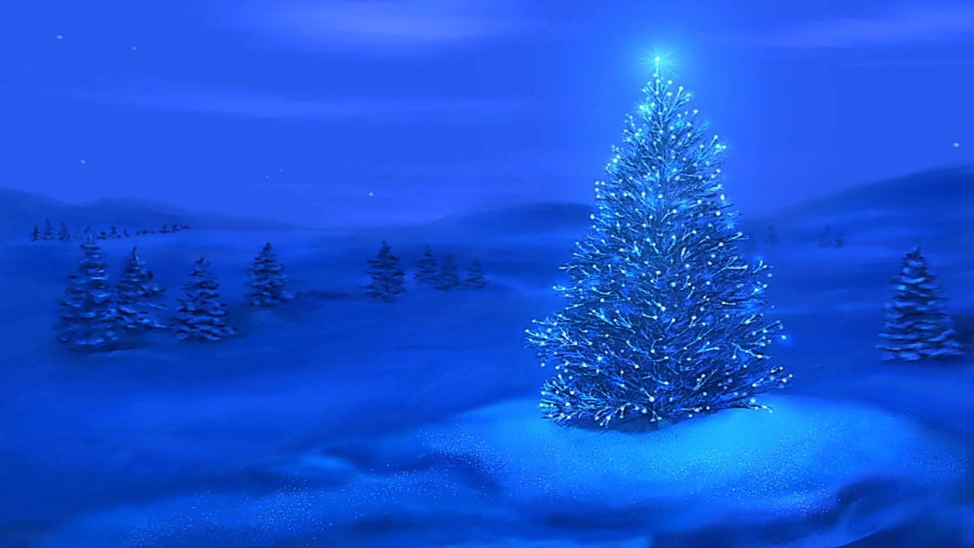 Free Christmas screensavers page 5 Deck The Tree Dozens of colorful baubles fall and float around a Christmas tree