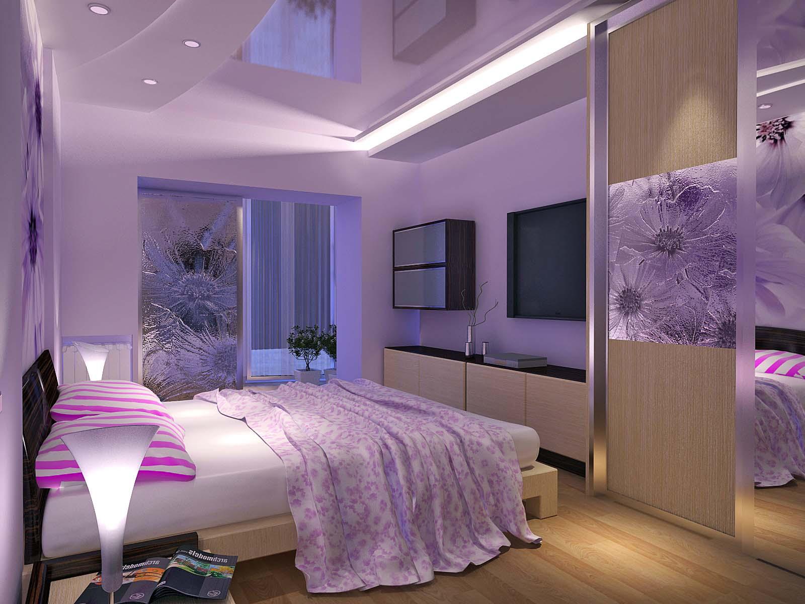 Цвет обоев по фен шуй для спальни