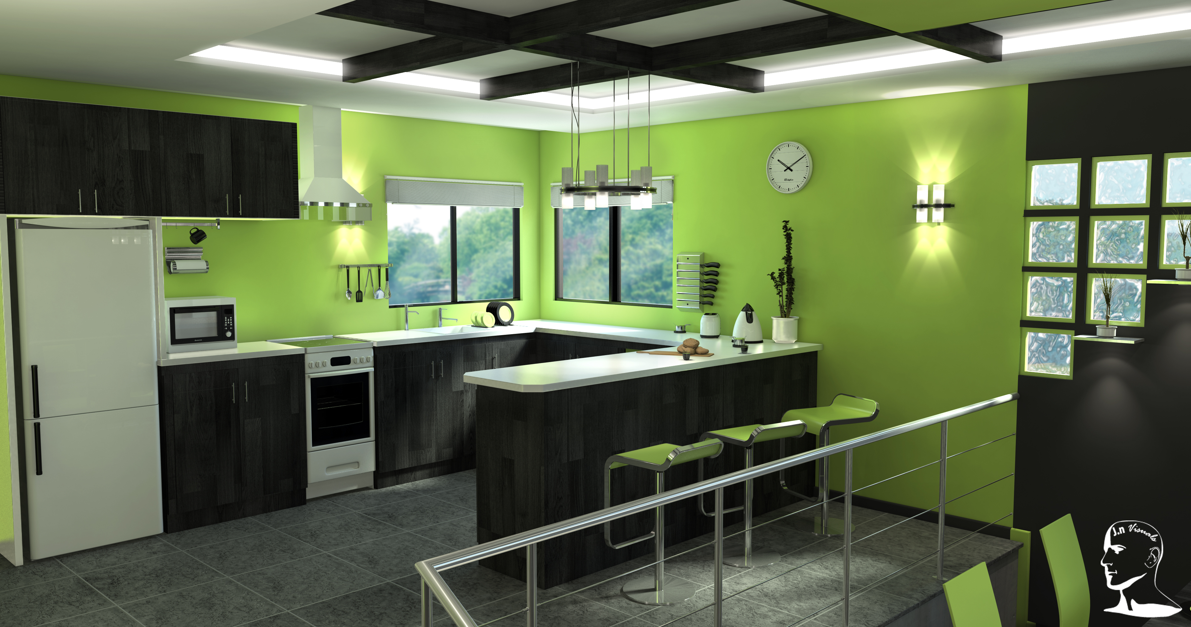 One alternative to natural ecoemulsion is clay paint As it is mineral based it compliments newly plastered lime and will also cover old lime plastered walls