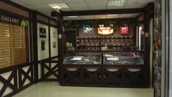 интерьер пивного магазина фото