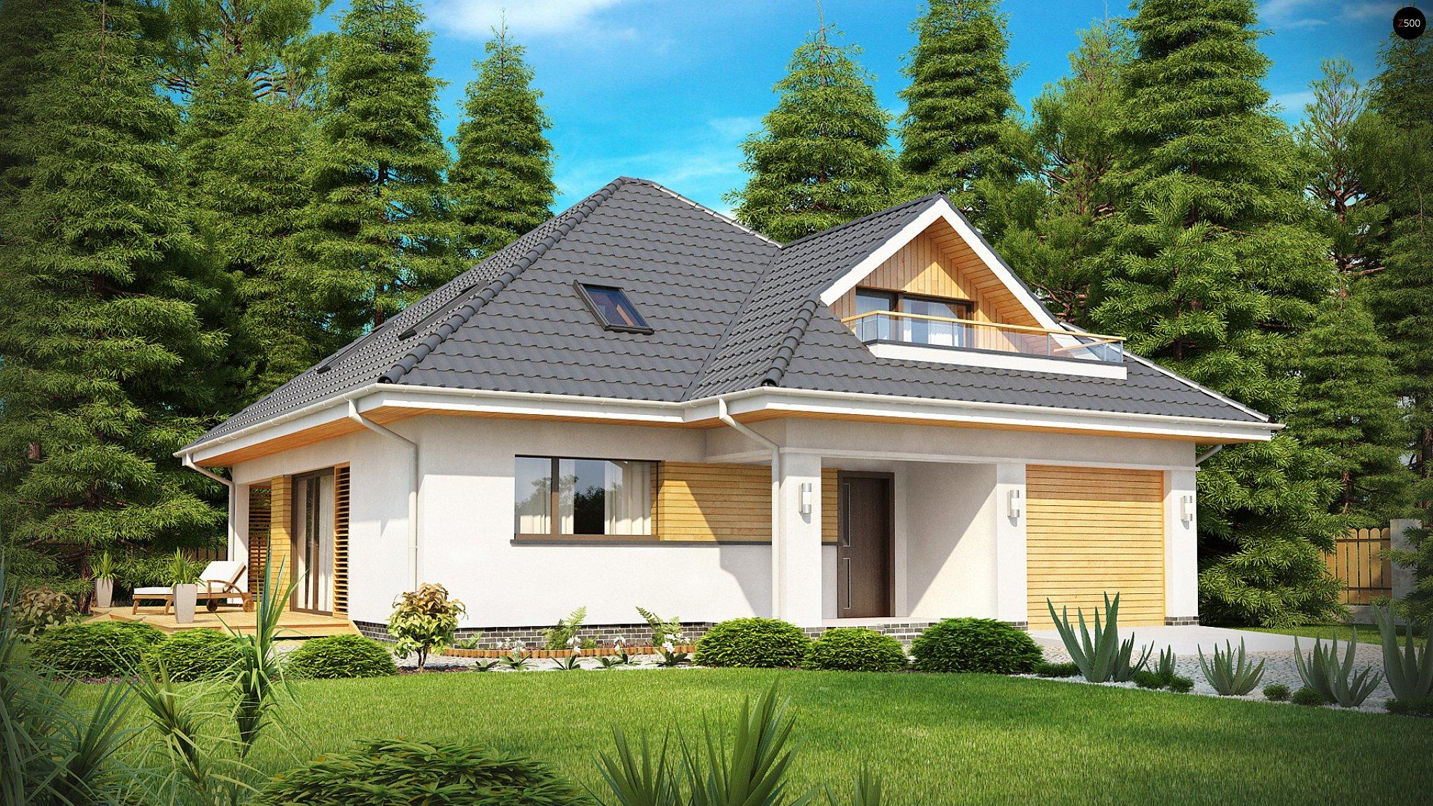 Проекты одноэтажных домов с мансардой скачать бесплатно без .