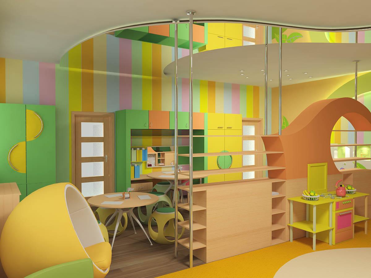 """Дизайн интерьера детский центр """" картинки и фотографии дизай."""