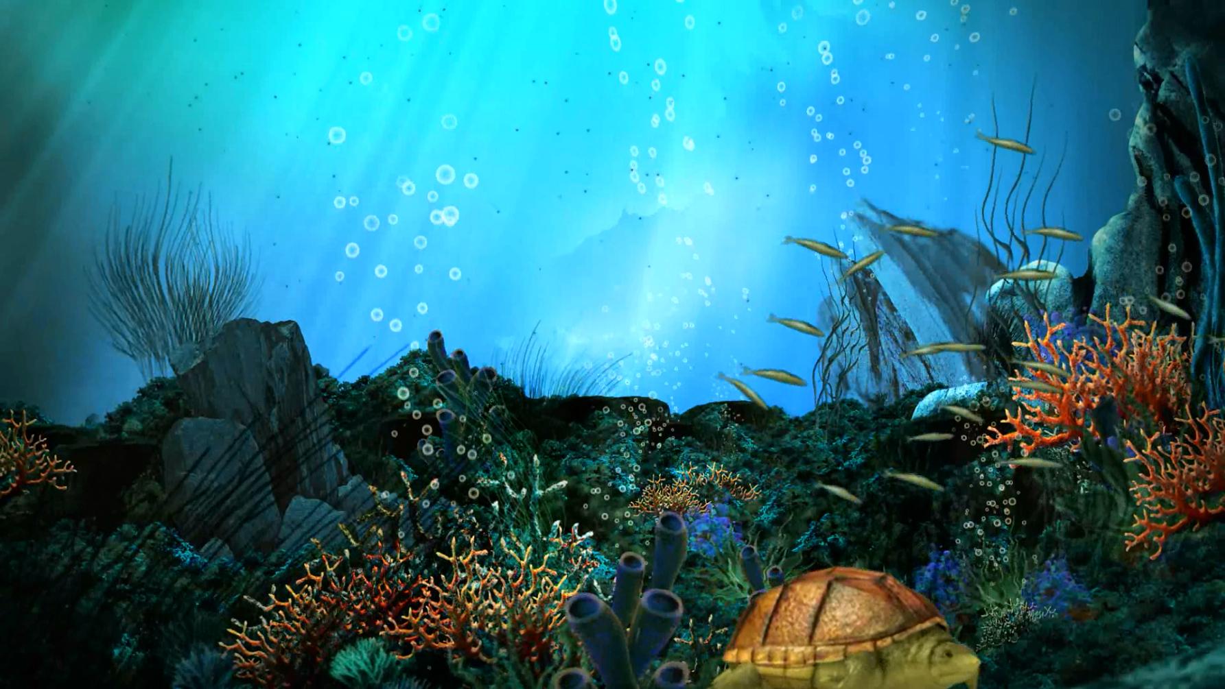 Прикольные человек, картинка на рабочий стол аквариум анимация